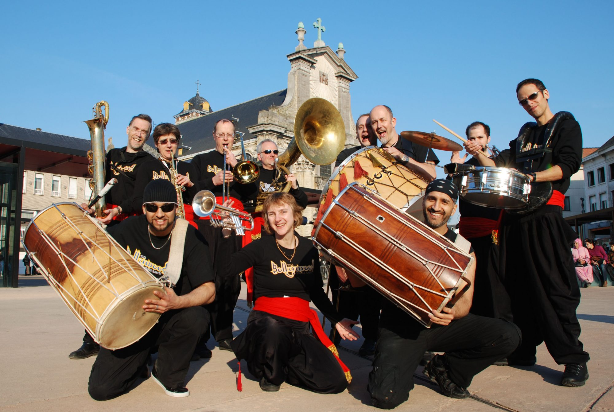 Booka brass band wedding