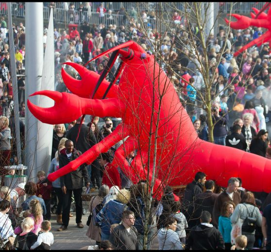 Giant Lobsters
