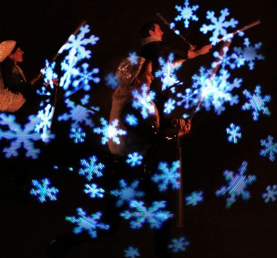 Wonderland Light Show