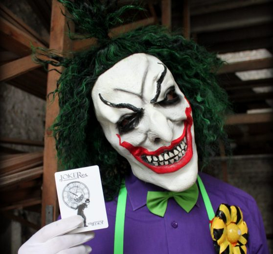 Book The Joker Halloween Act Joogleberry Entertainment