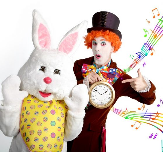 Easter Bunny and the Mad Hatter