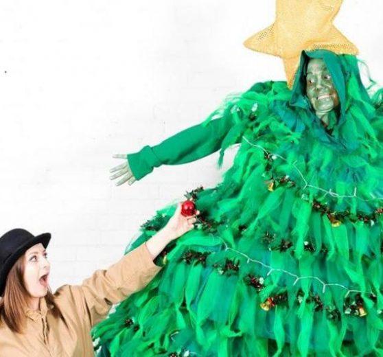 The Naughty Christmas Tree