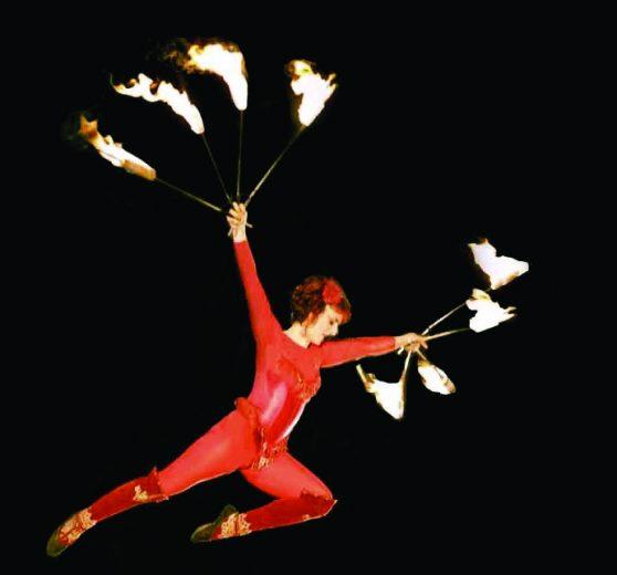 Aerial Firebird