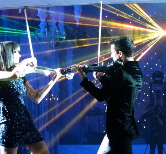 virtuoso electric violinists