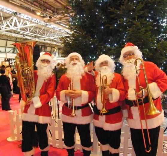 Brass Santas