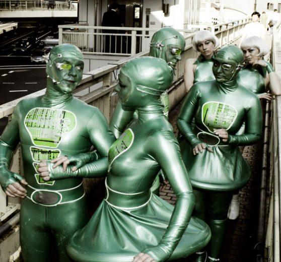 Rubber Aliens