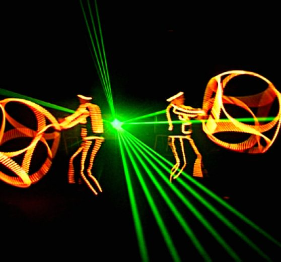 Juggling Glow Show