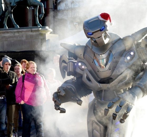 Titan the Robot Christmas Show