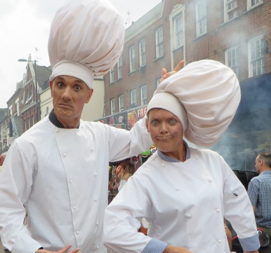 Comedy Robotic Chefs