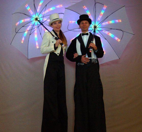LED Umbrella Stilt Act