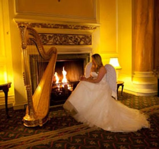 Harpist Fiona