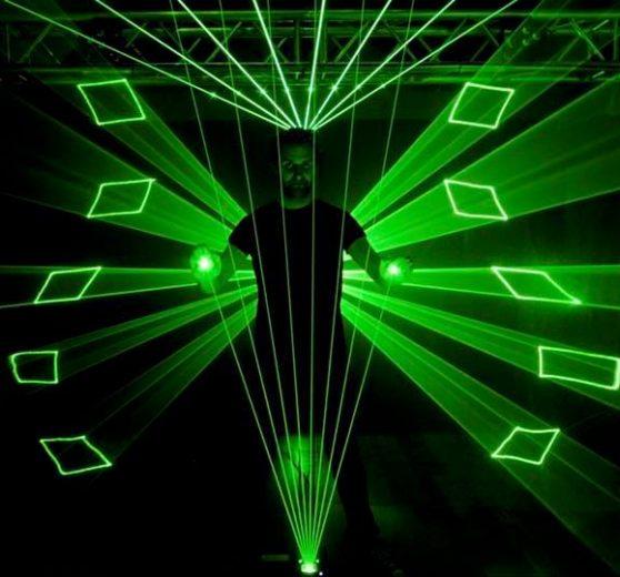 Laser Harp Show