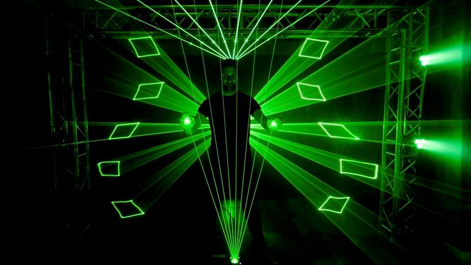 the laser