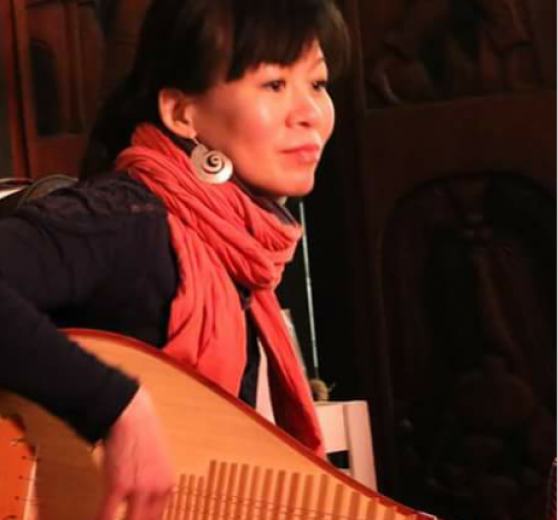 Chinese Lute player Rosemary