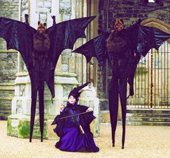 Bats on Stilts
