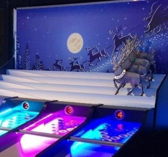 Roll a Ball Reindeer Racing Game