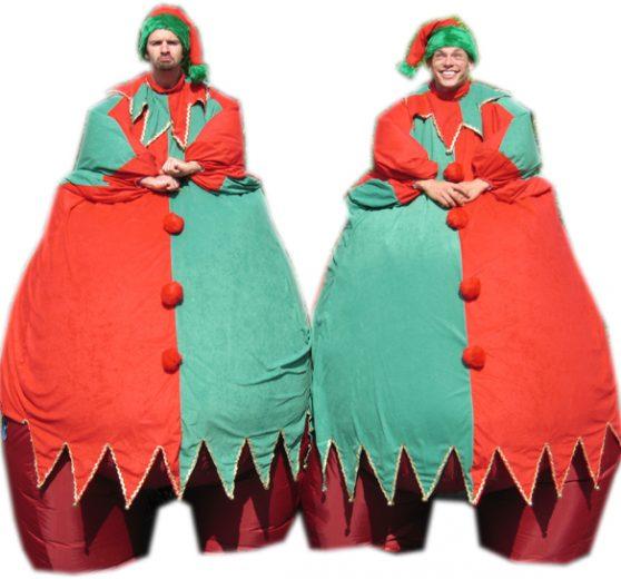 Giant Elves on Stilts