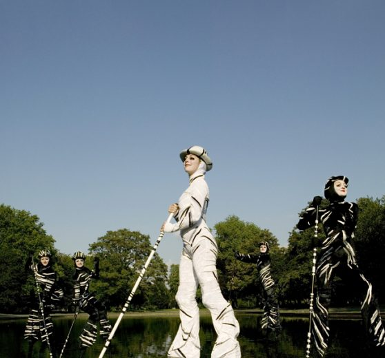 The Stalkers Stilt Walkers