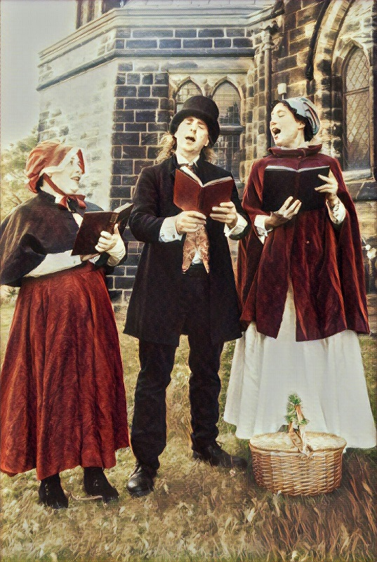 Book Victorian Carol Singers Carol Singers With A Twist Joogleberry