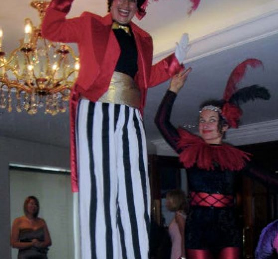 Ringmistress on Stilts