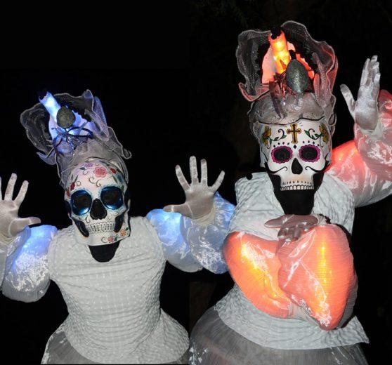 Halloween Stilt Walkers