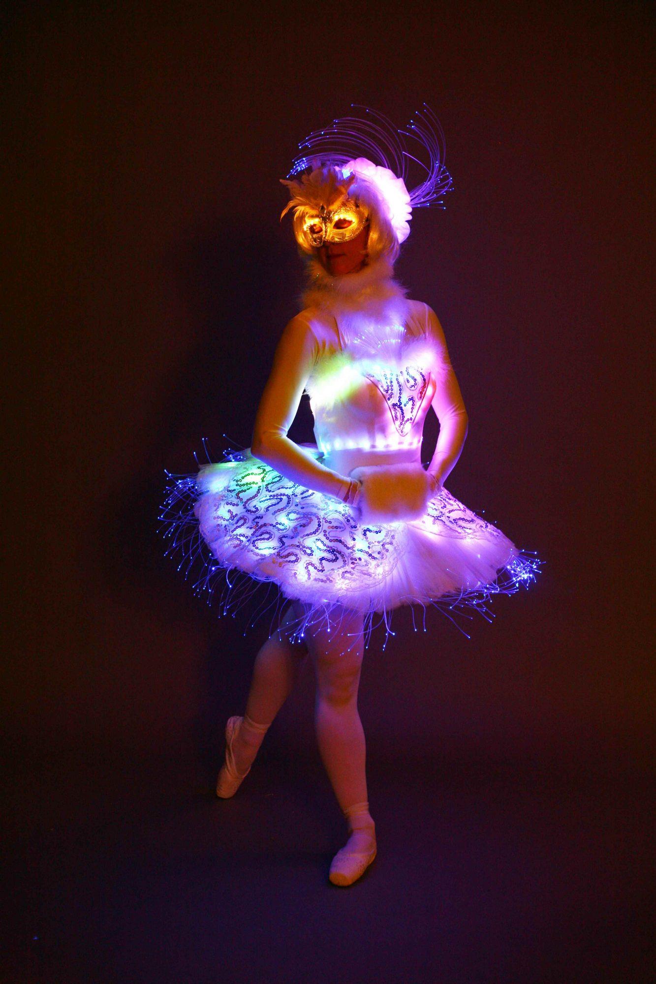 Book Light Up Angel Led Ballerina Hire Christmas Angel