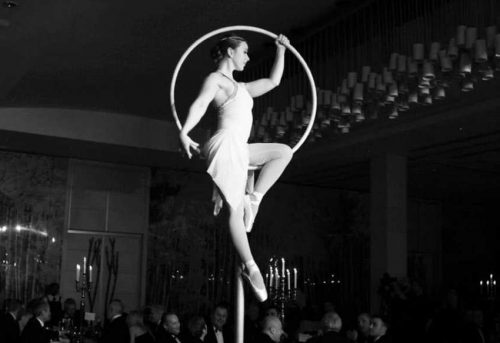 Freestanding Aerial Hoop