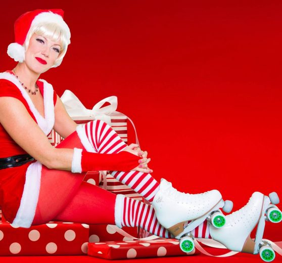 Roller Skating Jenny Claus