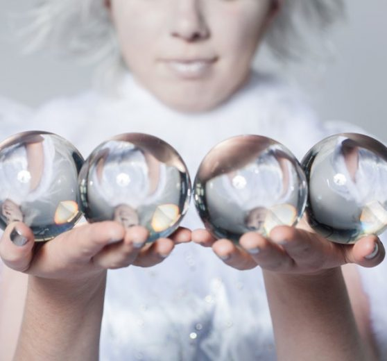 Crystal Ball Ice Queen