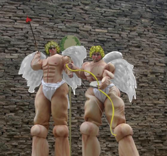Giant Cupids