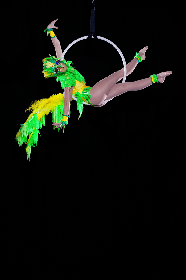 Aerial Birds Aerial Show For Hire Circus Themed