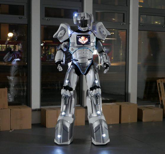 Brand Reveal Robot