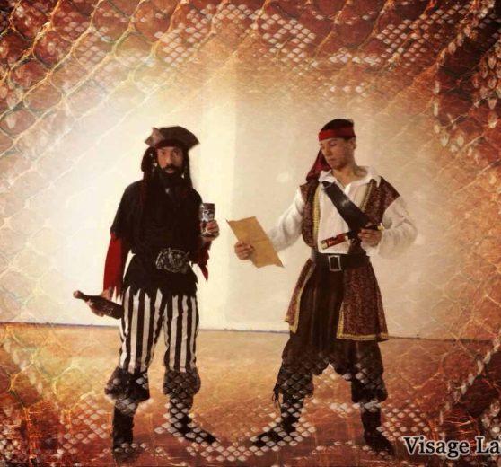 Acrobatic Pirates