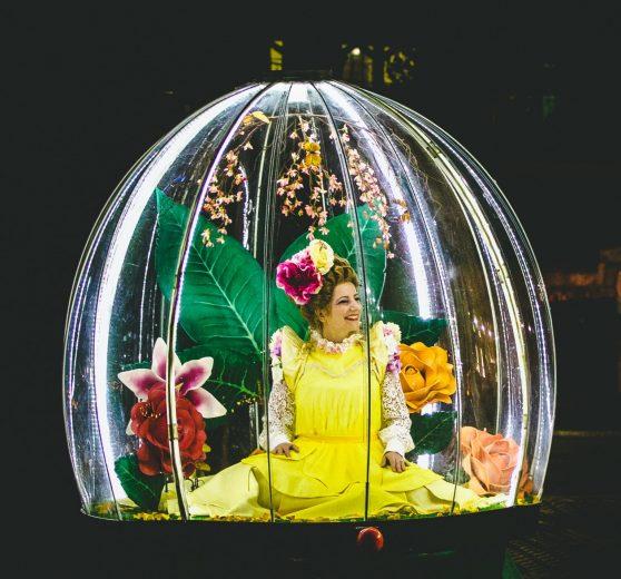 Enchanted Flower Globe