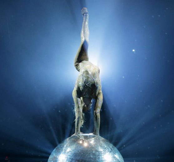 Mirror Ball Acrobat