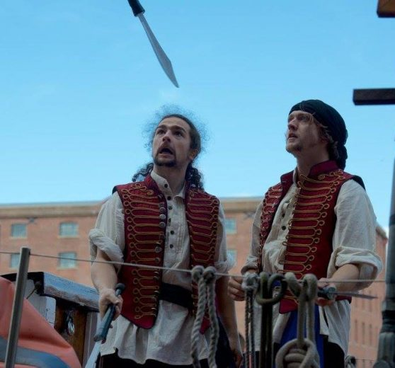 Pirate Acro-Jugglers