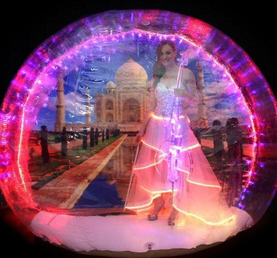 Bollywood Bubble Cellist