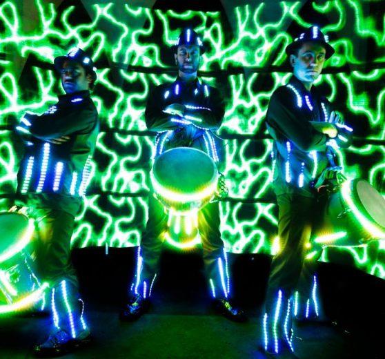 Glow Drummers