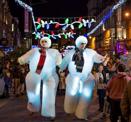 Bouncy Snowmen