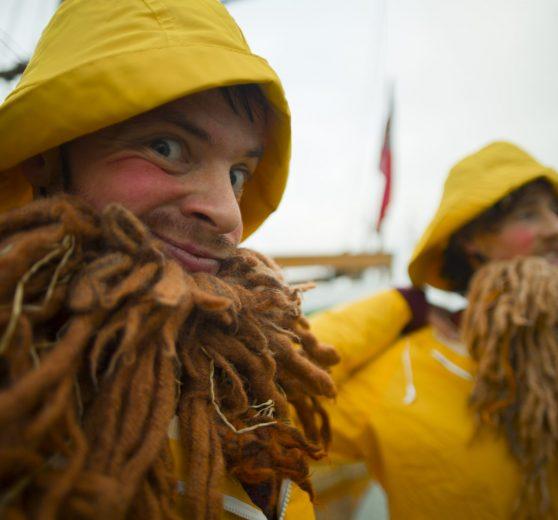 Bouncing Fishermen