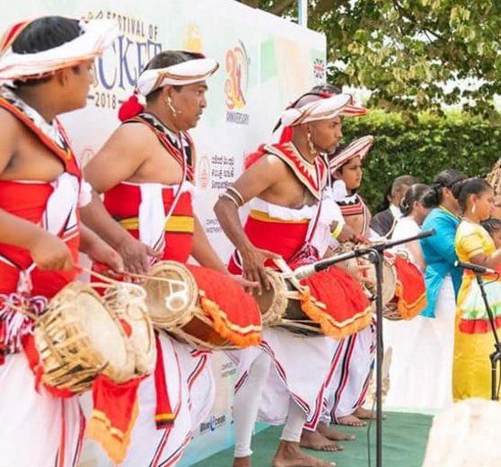 Sri Lankan Drummers and Dancers
