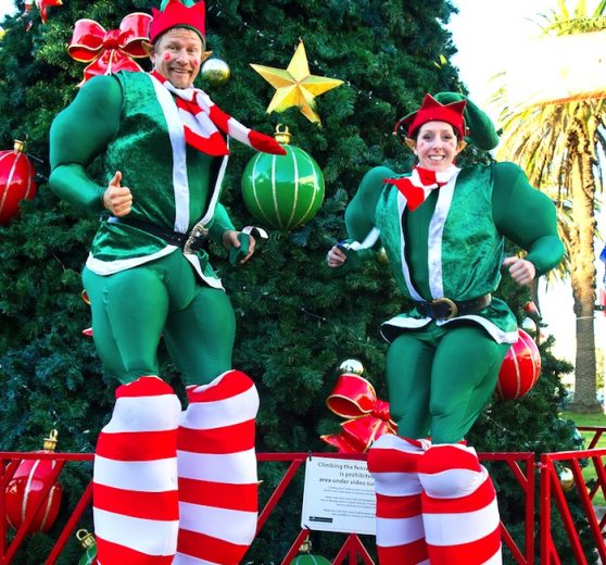 Santa's Big Helpers