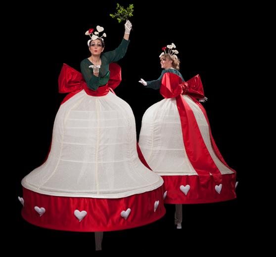 Mistletoe Belles