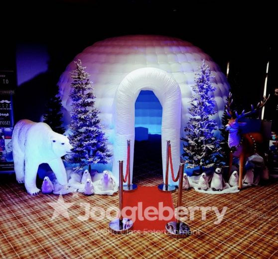 North Pole Photo Booth