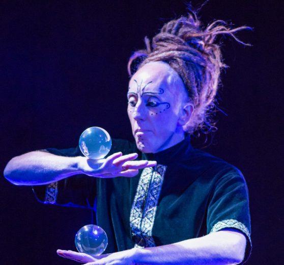 Crystal Ball Magic Man