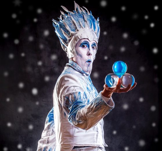 Icicle King contact juggler