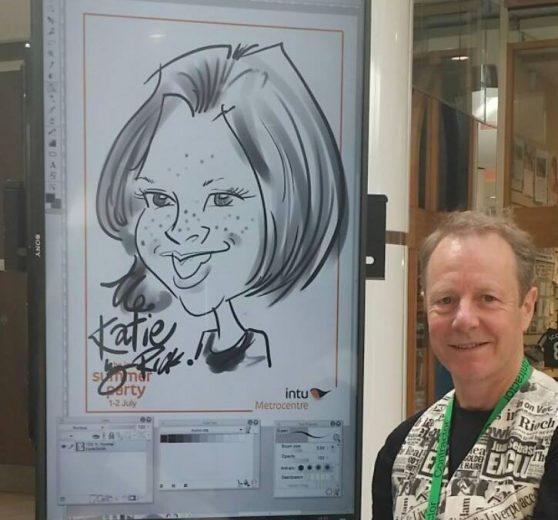 Caricaturist Rick
