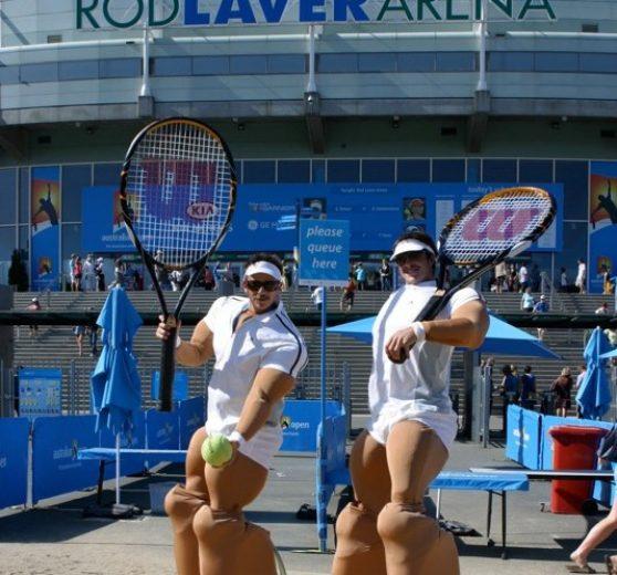Tennis Themed Entertainment
