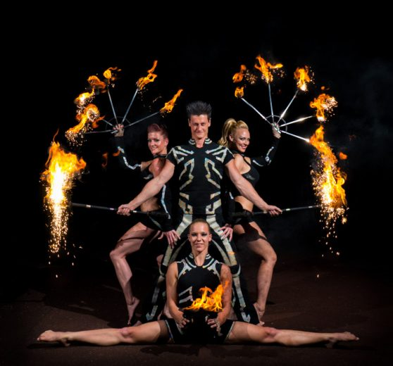 Corporate Fire Show