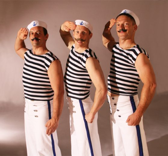 Acrobatic Sailors